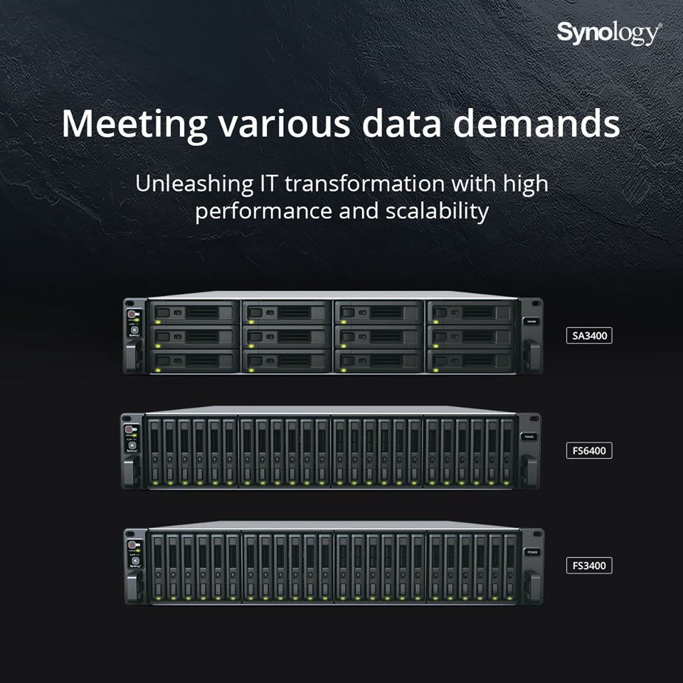 Synology, Enterprise, NAS, SAN, Storage Area Network, Network Attached Storage